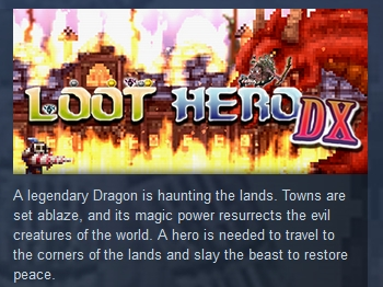 Loot Hero DX ( Steam Key / Region Free ) GLOBAL ROW