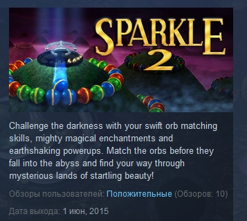 Sparkle 2 ( Steam Key / Region Free ) GLOBAL ROW