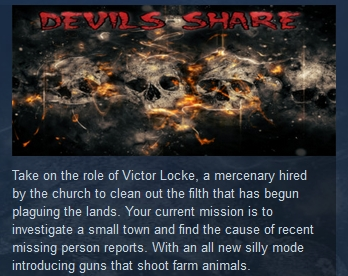 Devils Share ( Steam Key / Region Free )