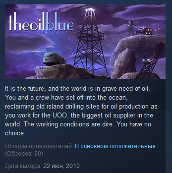 The Oil Blue Steam Legacy Edition STEAM KEY REGION FREE