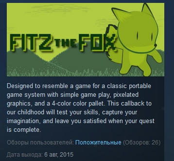 Fitz The Fox ( Steam Key / Region Free )