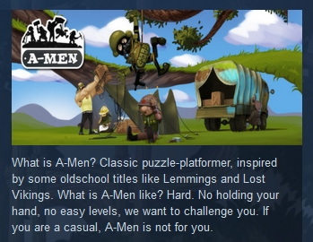 A-Men  ( Steam Key / Region Free ) GLOBAL ROW