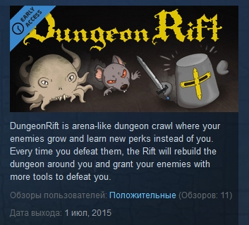 DungeonRift ( Steam Key / Region Free )