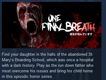One Final Breath ( Steam Key / Region Free )