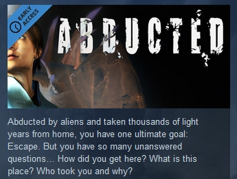 Abducted   ( Steam Key / Region Free ) GLOBAL ROW