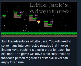 Little Jacks Adventures ( Steam Key / Region Free )