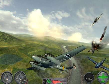 Combat Wings: Battle of Britain STEAM KEY REGION FREE