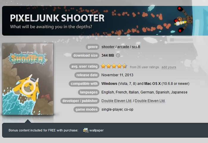 PixelJunk Shooter  ( GOG.COM Key )
