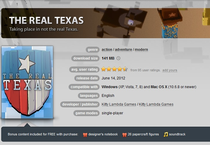 The Real Texas ( GOG.COM Key )