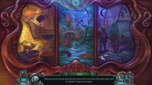 Nightmares from the Deep The Siren`s Call STEAM KEY ROW