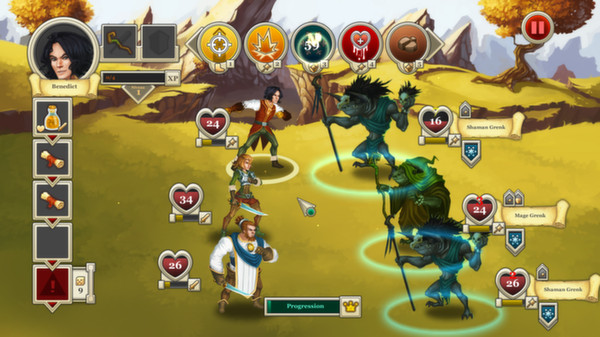 Heroes and & Legends: Conquerors of Kolhar STEAM GLOBAL