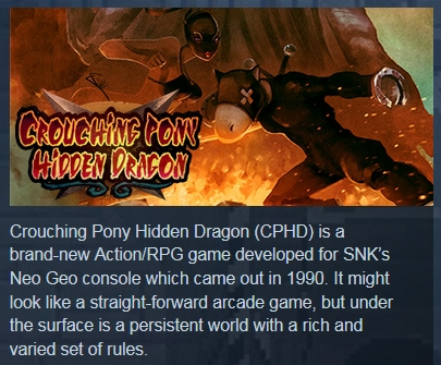 Crouching Pony Hidden Dragon (Steam Gift / Region Free)