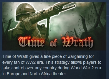 World War 2: Time of Wrath ( Steam Key / Region Free )