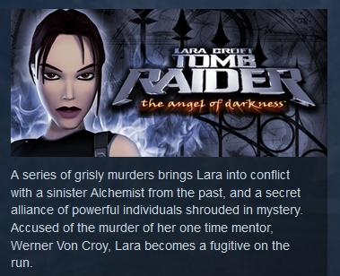 Tomb Raider VI 6: The Angel of Darkness ( STEAM GIFT )