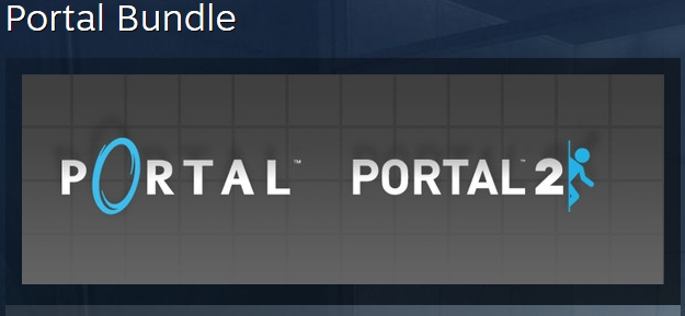 Portal Bundle  1 + 2 ( STEAM KEY RU + CIS )