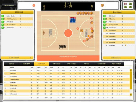 Basketball Pro Management 2014 (STEAM KEY REGION FREE)