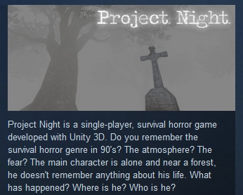 Project Night  ( Steam Key / Region Free )
