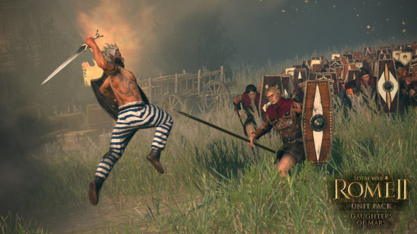 Total War: ROME II 2 Daughters of Mars Unit Pack STEAM