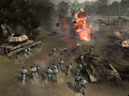 Company of Heroes Complete Pack+COH2 West STEAM GLOBAL