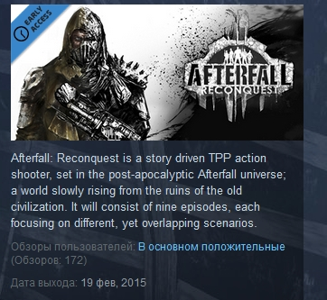 Afterfall Reconquest ( Steam Key / Region Free )