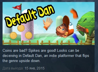 Default Dan   ( Steam Key / Region Free )