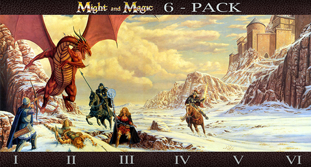 Might & Magic VI-Pack 1 to 6 collection UPlay KEY ROW