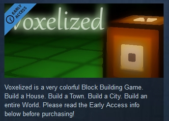 Voxelized  ( Steam Key / Region Free ) GLOBAL ROW