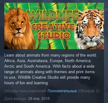 Wildlife Creative Studio   ( Steam Key / Region Free )