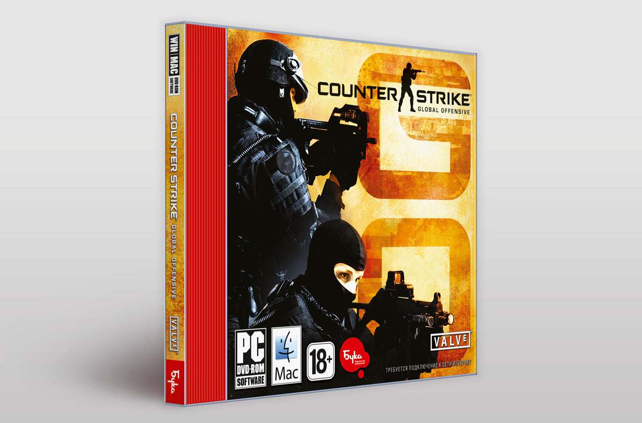 Counter-Strike: Global Offensive(CS:GO) STEAM-ключ скан