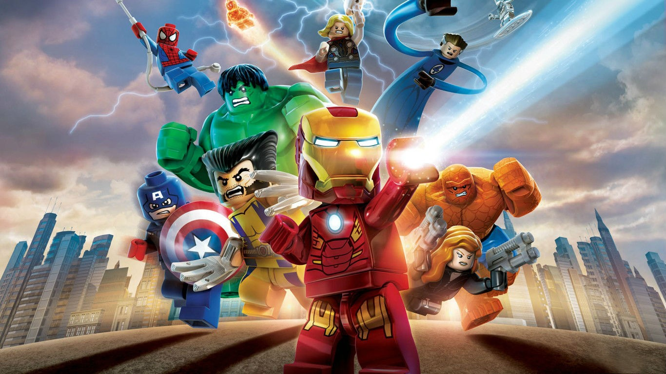 LEGO Marvel Super Heroes (Steam Gift / ROW)