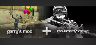 Counter-Strike: Source + Garry Mod (Steam Gift/R.Fr)