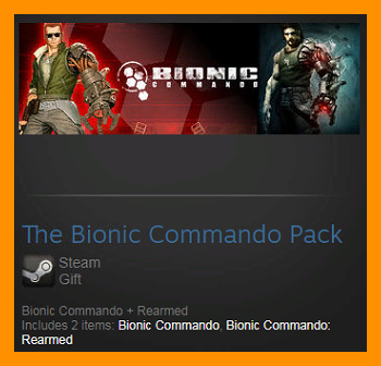 The Bionic Commando Pack (Steam Gift / ROW Region Free)