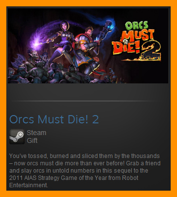 Orcs Must Die 2 (Steam Gift / ROW / Region Free)