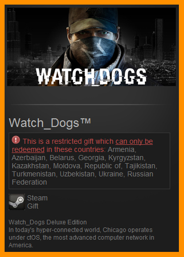 Watch_Dogs Deluxe Edition (Steam Gift / English lang.)