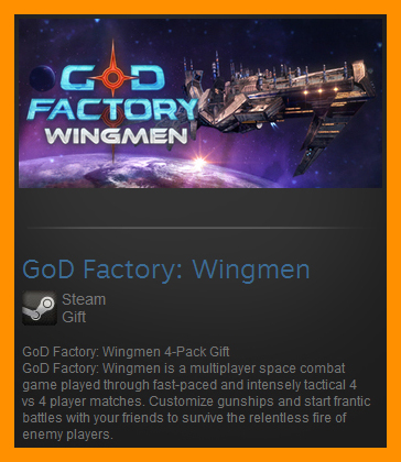 GoD Factory: Wingmen (Steam Gift / ROW / Region Free)