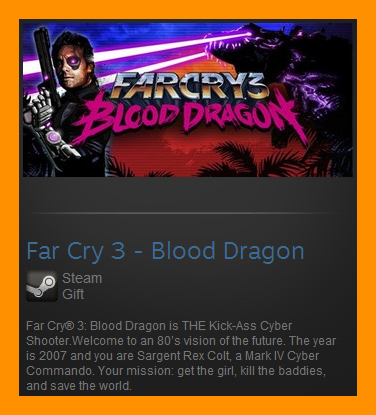 Far Cry 3 - Blood Dragon (ROW) (Steam Gift Region Free)