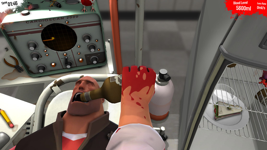 Surgeon Simulator 2013 (Steam Gift / ROW / Region Free)