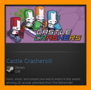 Castle Crashers (Steam Gift / ROW / Region Free)