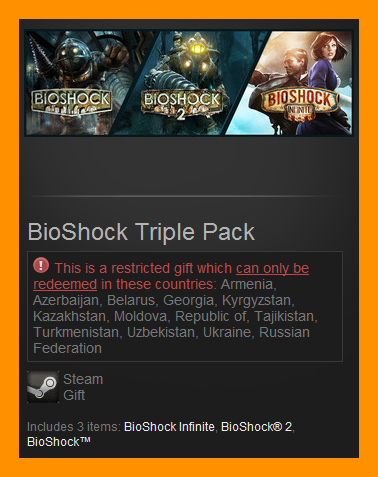 Bioshock product activation code