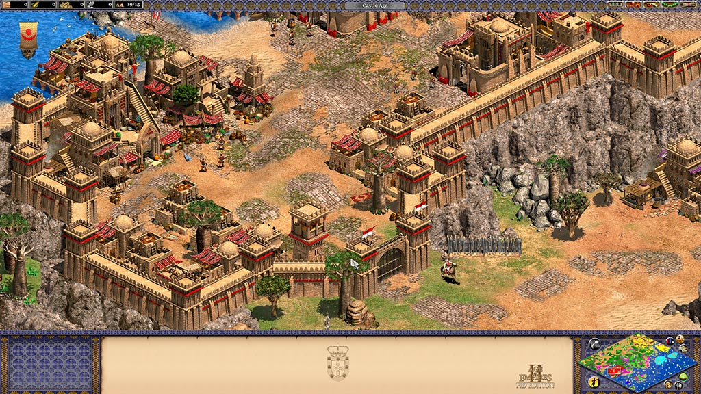 Age of Empires II HD + Forgotten + African Kingdoms RU