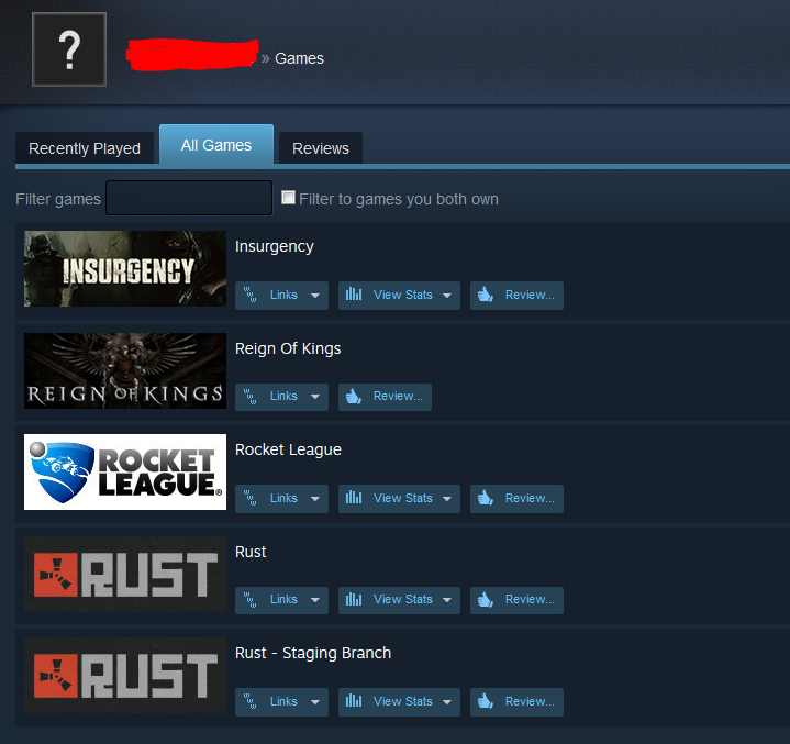 ... Rust + Rocket League / New Steam account / Region Free ...