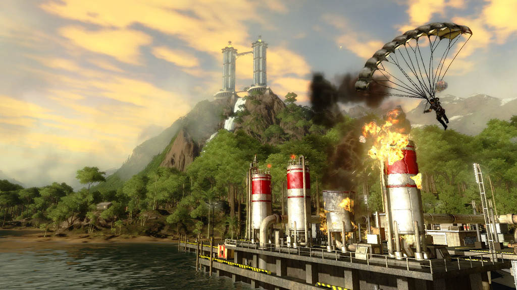 Just Cause 2 (Steam Gift / Region Free) + Подарок