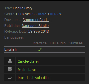 Castle Story (Steam Gift // Region Free)