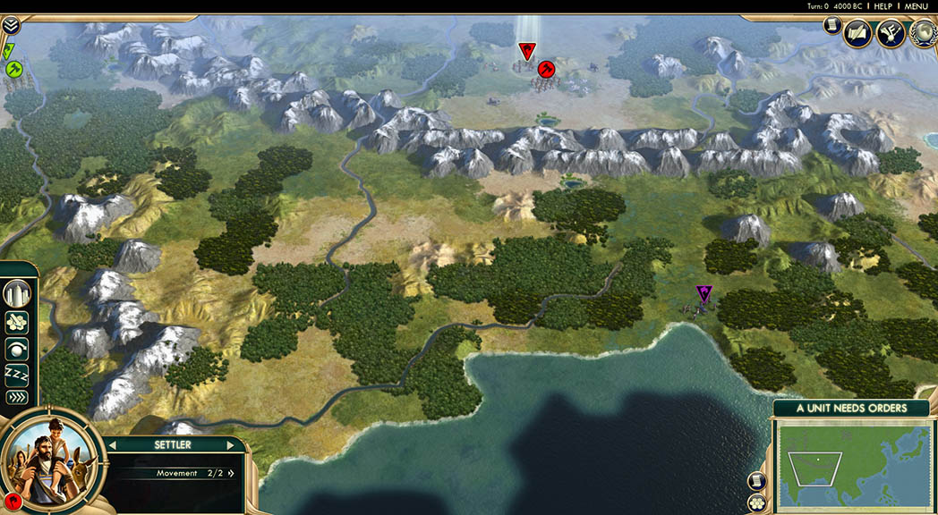 Sid Meier´s Civilization V Scrambled Continents MapPack