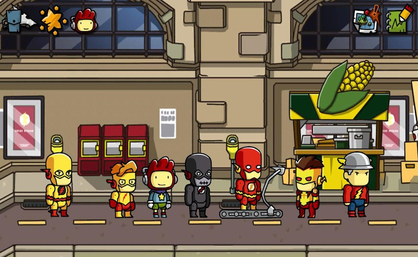 Scribblenauts Unmasked A DC Comics Ad(Steam Gift /ROW)
