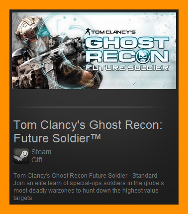 T.Clancy´s Ghost Recon Future Soldier (Steam Gift  ROW)