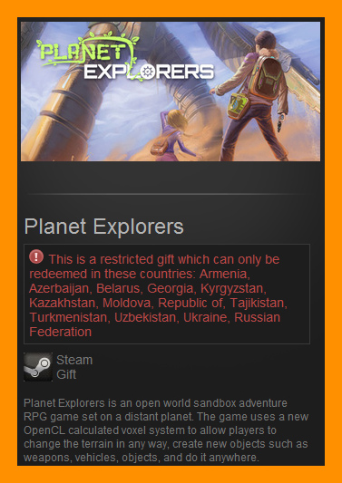 Planet Explorers (Steam Gift / RU CIS)