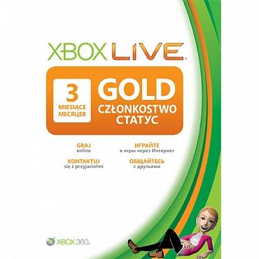 Купить Xbox Live Gold - 3 месяца (все страны+ Россия) Скан