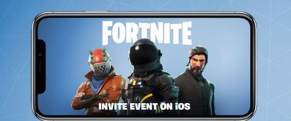 FORTNITE Battle Royale INVITE key iOS