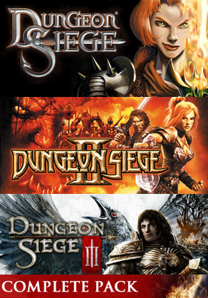 Dungeon Siege Complete (Steam Gift / 3 игры + DLC)